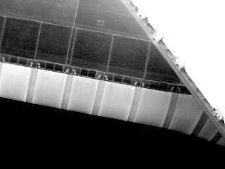 Infrared view of the WLE taken for DTO 851 during STS-121 / Expedition 13 joint operations