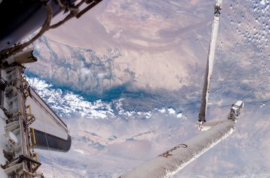 Earth view taken during STS-121 / Expedition 13 joint operations