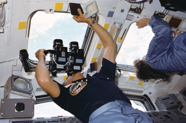 STS-51A activities