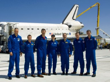 Landing of Space Shuttle Atlantis / STS-125 Mission