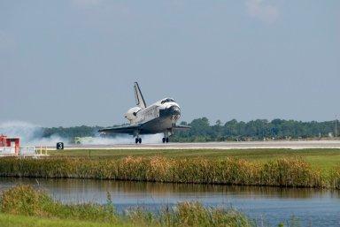 STS-124 landing