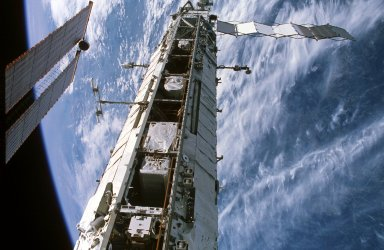 P1 Truss, and Solar Array taken during Expedition 13 / STS-115 Joint Operations