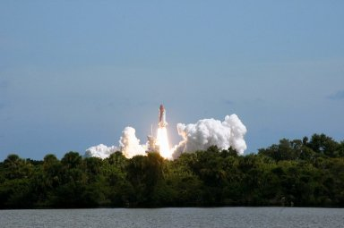 STS-115 Launch view