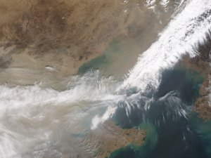 Sandstorms Sweep Across Northern China