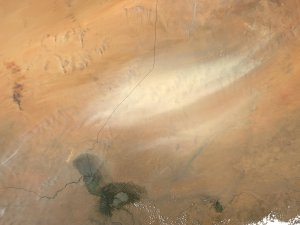 Dust in the Bodele Depression