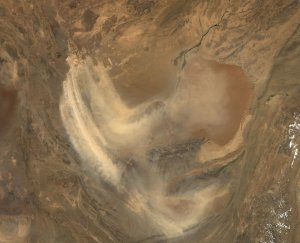 Dust Storm over Afghanistan