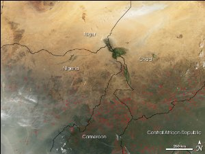 Dust Storm in the Bodele Depression
