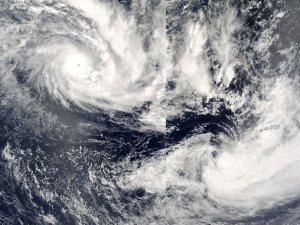 Cyclones in the Pacific