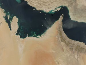 Dust Storm in the United Arab Emirates