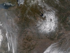 Spring Fires in Western Russia