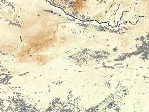 Drought in Central Asia
