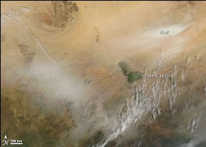 Dust Storm from the Bodele Depression