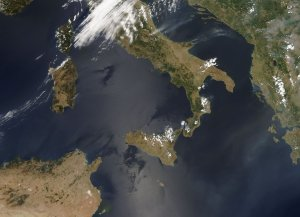 Fires in Italy
