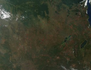 Fires in Central and Southern Africa