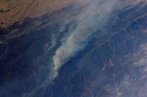 Wolf and Copper Fires Near Los Angeles