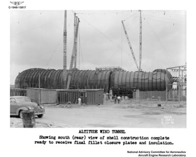 INSULATION AND ASSEMBLY OF THE ALTITUDE WIND TUNNEL AWT