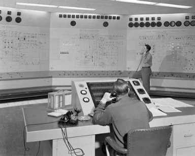 ENGINE RESEARCH BUILDING ERB MASTER CONTROL ROOM
