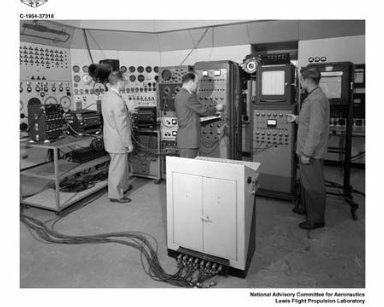 INSTALLATION OF INSTRUMENTATION IN THE PROPULSION SYSTEMS LABORATORY PSL CONTROL ROOM