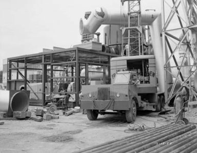 AIR DRYER TANK AND REACTIVATION BUILDING AT THE PROPULSION SYSTEMS LABORATORY PSL