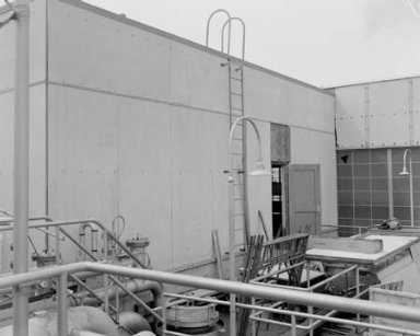 INSTRUMENT ROOM ADDITION ON SHOP AND ACCESS BUILDING IN THE PROPULSION SYSTEMS LABORATORY PSL