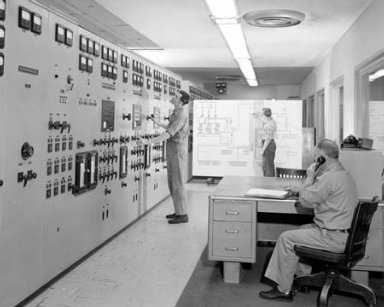 ELECTRICAL CONTROL PANEL IN THE PROPULSION SYSTEMS LABORATORY PSL EQUIPMENT BUILDING