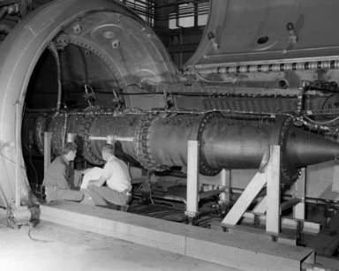 MACH 6 TUNNEL IN THE PROPULSION SYSTEMS LABORATORY PSL NO. 2