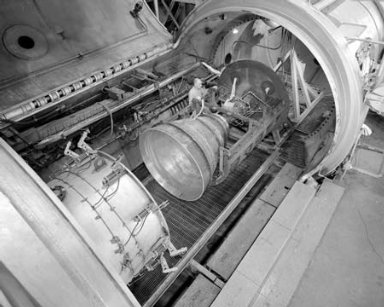 APOLLO CONTOUR ENGINE MOUNTED IN THE PROPULSION SYSTEMS LABORATORY PSL NO. 2 TEST CELL