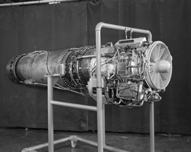 JET ENGINE IN THE PROPULSION SYSTEMS LABORATORY PSL
