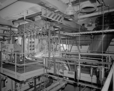 VITIATED HEATER SYSTEM NO. 6 AND NO. 7 TEST CELL NO. 2 CONTROL ROOM