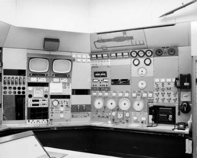 PROPULSION SYSTEMS LABORATORY PSL CELL 1 CONTROL PANEL