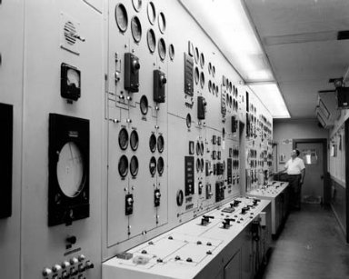 BEFORE AND AFTER OF EXHAUSTER CONTROL EQUIPMENT AT THE PROPULSION SYSTEMS LABORATORY PSL