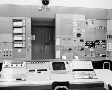 PROPULSION SYSTEMS LABORATORY PSL TANK 1 CONTROL ROOM PANELS FOR ATF-3 ENGINE SET UP