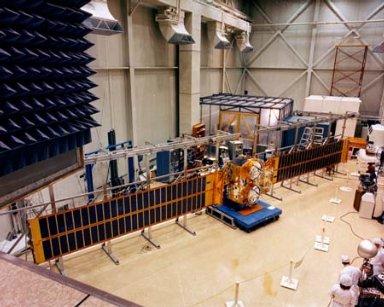 COMMUNICATION TECHNOLOGY SATELLITE CTS SPACECRAFT FROM NASA GODDARD SPACEFLIGHT CENTER