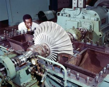 C-10 TURBO EXPANDER AT THE PROPULSION SYSTEMS LABORATORY PSL