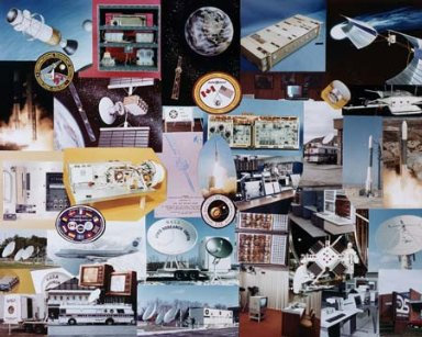 MONTAGE OF VARIOUS CTS COMMUNICATION TECHNOLOGY SATELLITE PROJECTS