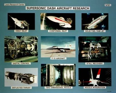 SUPERSONIC DASH AIRCRAFT RESEARCH
