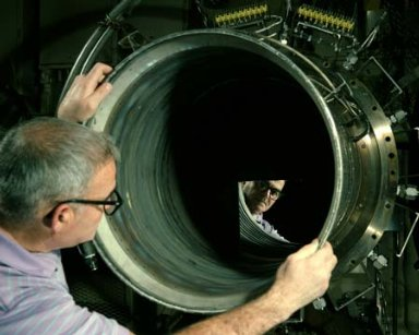 COMBUSTOR LINER IN ENGINE COMPONENTS RESEARCH LABORATORY ECRL