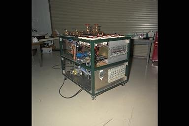 FABRICATION - ASSEMBLY - TEST AND INTEGRATION OF COMBUSTION MODULE 1 CM-1 HARDWARE