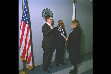 INSTALLATION OF CENTER DIRECTOR DON CAMPBELL AS CHAIRPERSON OF FEDERAL EXECUTIVE BOARD FEB