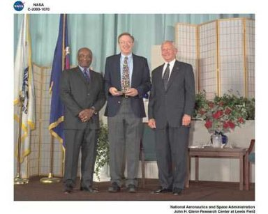 NASA 2000 HONOR AWARDS CEREMONY DON CAMPBELL - RICHARD SCHESKE - GENERAL DAILEY