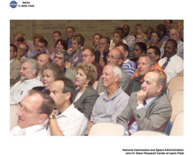 VISIT BY NASA ADMINISTRATOR SEAN O'KEEFE TO GLENN RESEARCH CENTER AUGUST 26 2002 - BRIEFING BY NASA ADMINISTRATOR SEAN O'KEEFE TO GRC EMPLOYEES