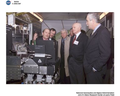 VISIT TO NASA GLENN RESEARCH CENTER BY NASA ADMINISTRATOR SEAN O'KEEFE / POWER SYSTEMS FACILITY PSF