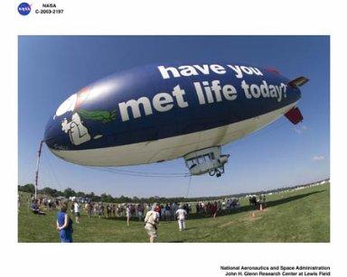 Blimp Meet WPAFB-Inventing Flight, Dayton, Ohio, July 13, 2003
