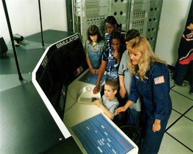 Test Control Center exhibit