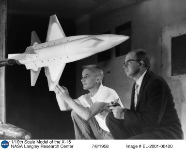 1/10th Scale Model of the X-15