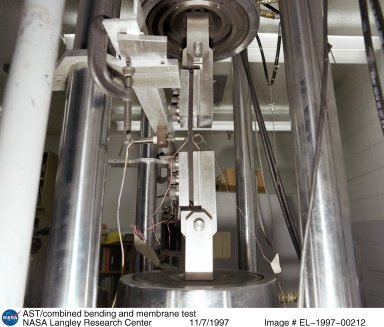 AST/combined bending and membrane test