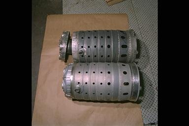 ADVANCED SUBSONIC COMBUSTION RIG JET COMBUSTION CANS