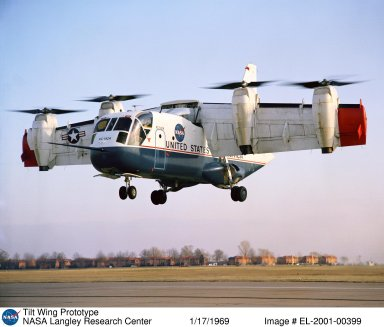 Ling-Temco-Vought XC-142A