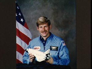 """Offical portrait of Astronaut candidate Robert C. """"Woody"""" Spring"""