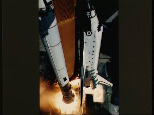 Launch of Shuttle Discovery and the STS 51-C mission